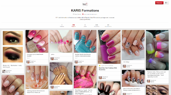 Karis Formations sur Pinterest