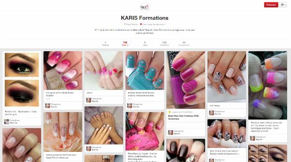 Karis Formations sur Pinterest